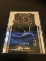 Panini Threads Kevin Durant Silver Sparkle Base Insert Warriors 18-19