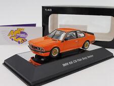 "AUTOart 68448 # BMW 635 CSi Baujahr 1984 Plain Body Version "" orange "" 1:43"