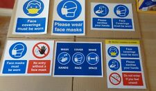 Social Distancing Sign (Various Designs Available) - Self Adhesive