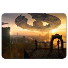 """XXL Gamer apuri """"ciencia-ficción"""" - 40x28cm-Gaming alfombrilla de mouse-extraterrestres-ovni"""