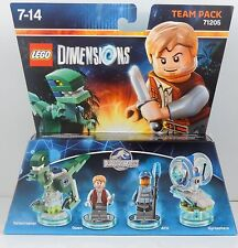 LEGO Dimensions 71205 Jurassic World Team Pack Owen ACU Velociraptor NEW (#1312)
