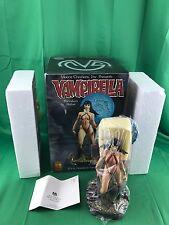 "Vampirella Moore Creations 2001 Limited Edition 5000 Porcelain 8"" Statue"