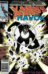 Marvel Comics Presents 28 Havok Copper Age First Print 1989 Don McGregor