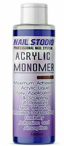 NAIL SCULPTING ACRYLIC LIQUID MONOMER SALON HIGH QUALITY UK Fast  Delivery 100ML