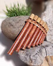 Flute de Pan Bambou Instrument Musique Bois Artisanat Panpipes Bamboo Flauta Pan