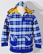 COOGI Kids jacket windbreaker coat checkered lined zip up toddler boy size 4T