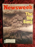 NEWSWEEK June 2 1980 Mount St. Helens Volcano Explodes Love Canal Ny +++