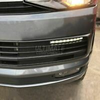 VW Caravelle T6 Front Bumper Upgrade LED DRL Daytime Running Lights Lamps Kit