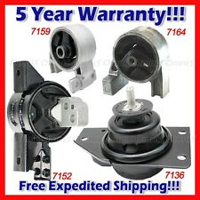 L900 Fits: 2006-2011 Kia Rio/ Rio5 1.6L, Engine Motor & Trans Mount Set 4pcs
