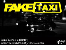 FAKE TAXI Stickers Refelctive Funny Car STICKERS Best  DECALS GIFTS PRESENTS-