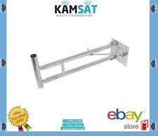 TV Satelitte Aerial Wall Mounting Bracket 26cm To 107cm Heavy Duty