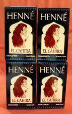 4 x 90 G Henné Poudre Acajou Rouge Naturel Coloration Cheveux Soin de Nés