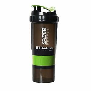 Strauss Spider Shaker Bottle 500ml (Color May Vary)