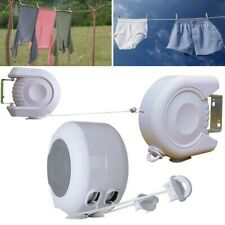 13M Retractable Double Line Indoor Clothesline Hotel Style Clothes Drying Line