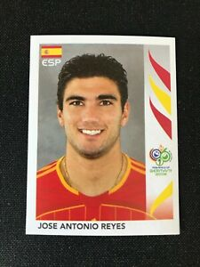 Panini 2006 Germany World Cup Sticker Jose Antonio Reyes #546 Spain MINT