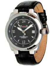 Enzo Bellini Lugano Black 24 Hours Automatic Watch Ø 39 mm Unisex Watch