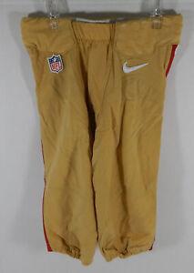 San Francisco 49ers #10 Game Used Gold Game Pants 26 DP07914