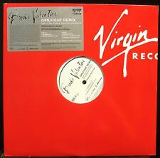 "Brooke Valentine - Girlfight Remix 12"" Mint- 7087 6 19323 1 7 Vinyl White Promo"