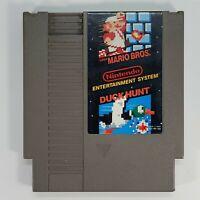 Tested | Authentic | Super Mario Bros. | Duck Hunt | Nintendo 1985 NES-MH-USA