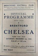 More details for brentford v chelsea 1945/46