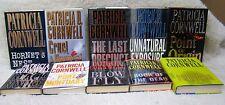 Lot of 10 Patricia Cornwell Hardback Books, Hornet's Nest, Cruel & Unusual.