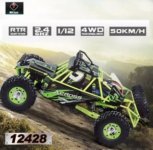 WLtoys 12428 RC רכב 4WD 1/12 2.4G 50 KM/H במהירות גבוהה מפלצת רכב שלט רחוק לרכב