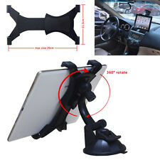 """Universal Car 360 Rotate Suction Mount Holder Bracket 7""""-10"""" for Tablet and iPad"""