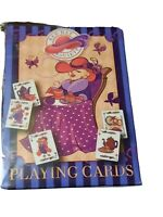 NEW SEALED - Red Hat Society Chic Whimsey Deck of Playing Cards - by Bicycle