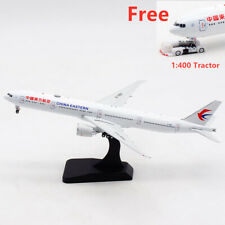 1:400 Aviation400 China Eastern Airlines B777-300ER B-7883 Free Tractor+Stand