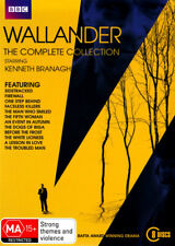 Wallander The Complete Collection Series 1 - 4 DVD (8 Disc Set)