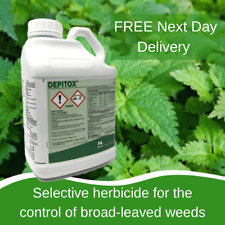 DEPITOX 5L SELECTIVE WEED KILLER GREAT AT CONTROLLING RAGWORT