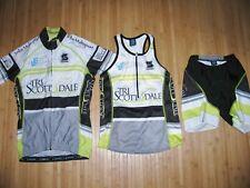 LOT of SQUADRA Tri Jersey & Shorts SET  Womens SMALL Triathlon SCOTTSDALE ARIZ