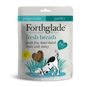 Forthglade Fresh Breath With Turkey Natural Dog Treats 150g