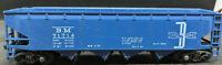 ATHEARN: BM 71714, 4 BAY  HOPPER. HO SCALE, BLUE VINTAGE