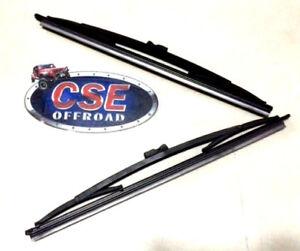 """Windshield Wiper Blade PAIR 11"""" For Jeep CJ5 CJ7 CJ8 1968-1986 19712.07 Omix-Ada"""