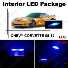 Blue LED Lights Interior Package Kit for Chevy Corvette 2005-2012 (6 Pieces )