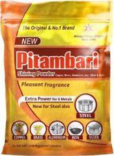Pitambari brillante en polvo para Vidrio, Jarra de cobre, latón, aluminio, hierro, plata 200g