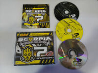SCORPIA CENTRAL DE SONIDO 7 ANIVERSARIO - 3 X CD FAT BOX TEMPO MUSIC DJ TECHNO