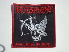 BLASPHEMY FALLEN ANGEL OF DOOM EMBROIDERED PATCH