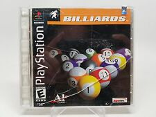 Billiards (Sony PlayStation 1, 2001)