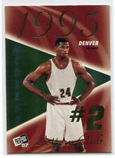 1997 Press Pass Double Threat Lotto 2b Antonio McDyess