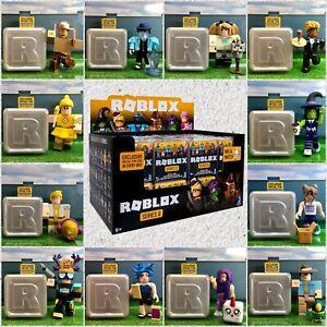 Roblox Celebrity Series 6 Mystery White DIAMOND Silver Box Figures+Virtual Codes