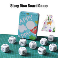 Story Dice Board Game Story Cubes Toys Funny Boxed Storytelling Game Story Game