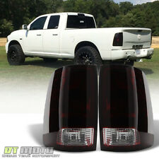 Black Tinted 2009-2017 Dodge Ram 1500 10-17 Ram 2500 3500 Tail Light Brake Lamps