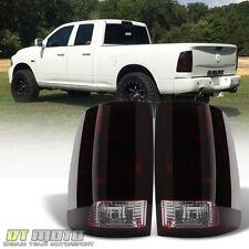 Black Tinted 2009-2017 Dodge Ram 1500 10-17 Ram 2500 3500 Tail Light Brake Lamps