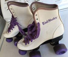 Vintage Roller Skates Womens Size 4 Retro Old School Trophy Rinkmaster