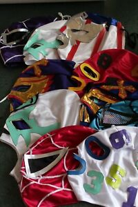 240 (two hundred forty)  wrestling masks KIDS MIXED FREE SHIPPING special price