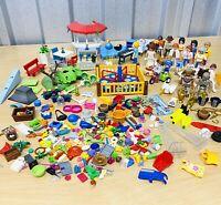 Huge PLAYMOBIL Job Lot 23 Figures, Some Rare, Furniture & Accessories VGC