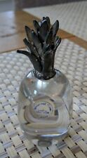Wedgwood Clear Glass / Metal Pineapple Paperweight