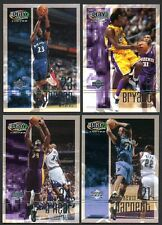 2001-2002 Upper Deck Playmakers Basketball Card Set 100 NM-Mint Cards